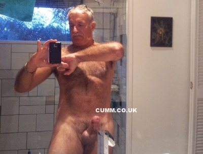 daddy cock selfie shower
