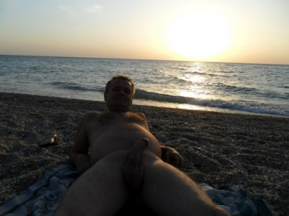 erect big thick mature beach cock