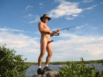 fisherman erect