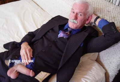 grandpa suit erection