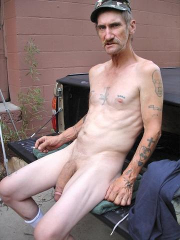 Old guy with huge cock