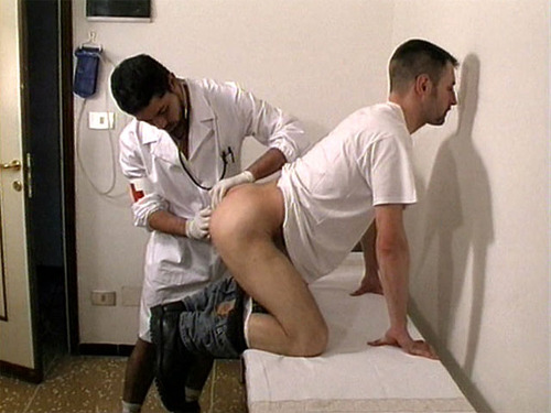 Massage doctor gay male video