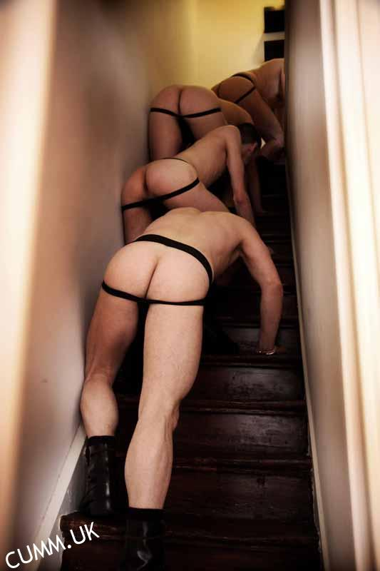 man arse stairway to heaven