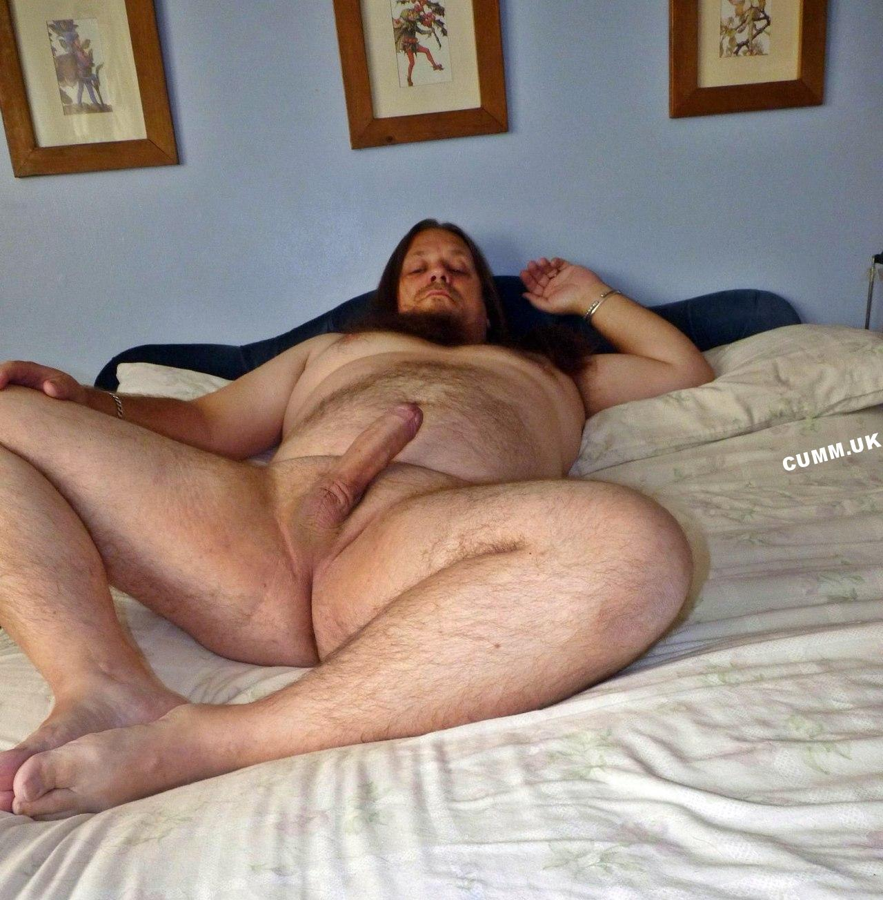 married daddy nude in bed big thick cock