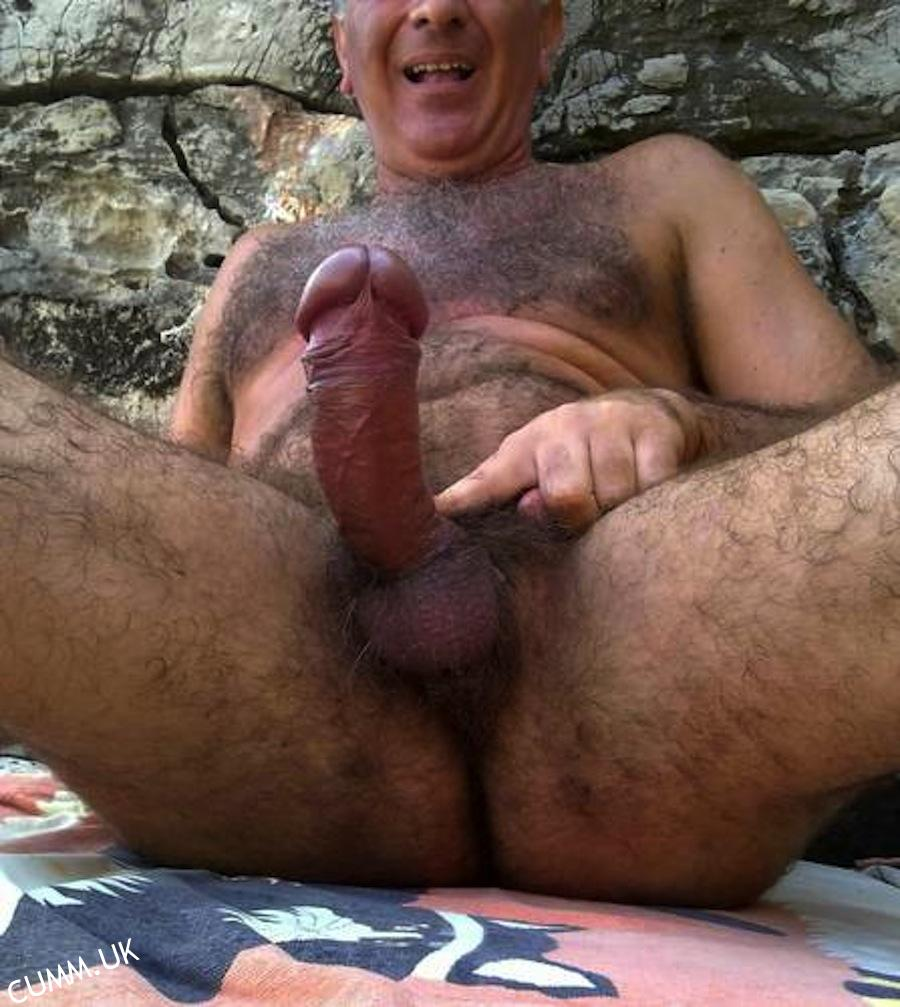 Big dick old gay men