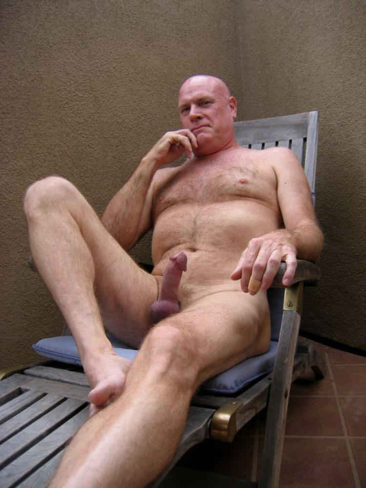 Naked old mature cock — photo 8