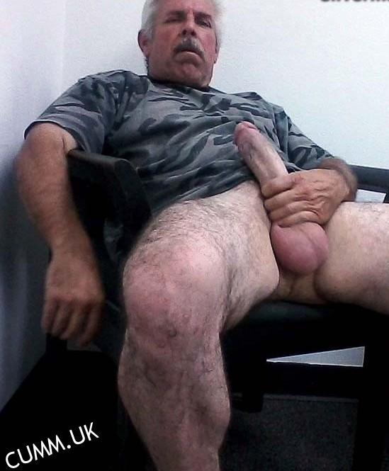 old men big dicks silver daddy