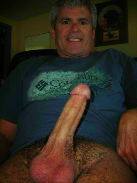 mature silver daddy huge cock
