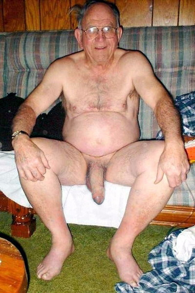 mature silver floppy cock