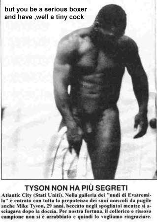 mike tyson naked