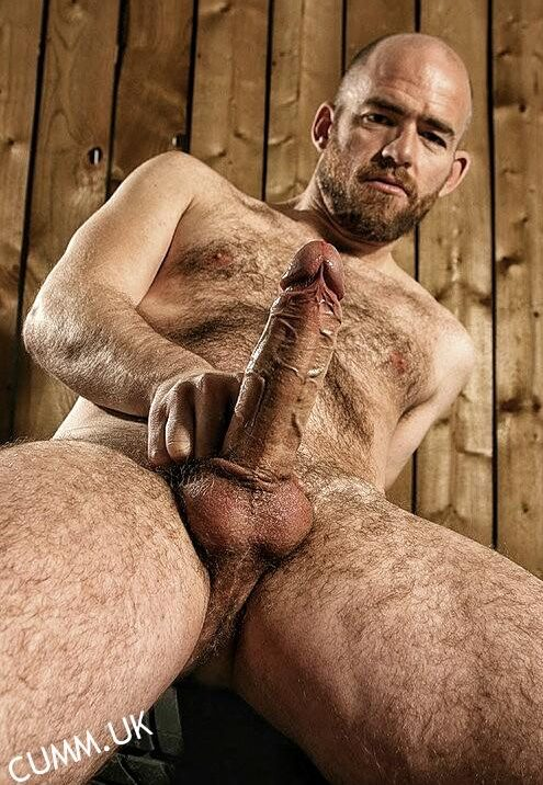 hairy hung rugby lad