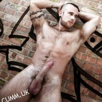 naked almighty inked god cock