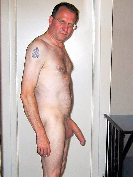 hung older man