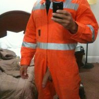 workmans cock selfie