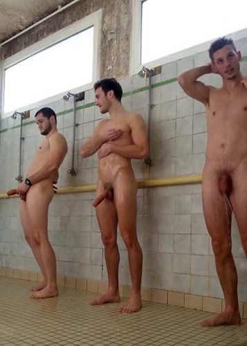 Pity, naked straight men shower seems magnificent