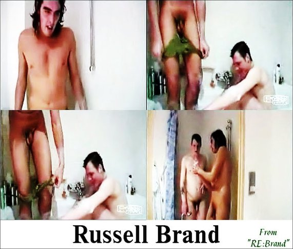 New day. Russell brand naked