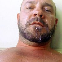 meaty thick cock pics face spunked