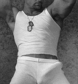 vintage sailor shows big penis bulge