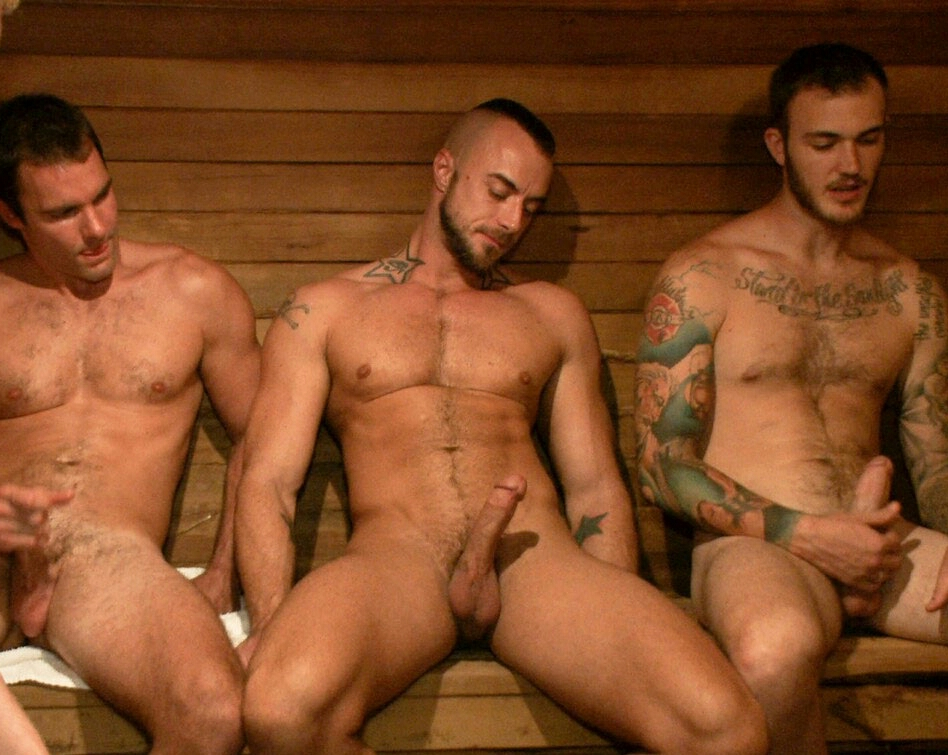 Men group wanking men and free