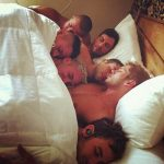 str8 men sleep together