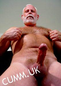 touch silver daddy cock
