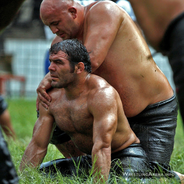 turkish wrestling [Taille d'origine]